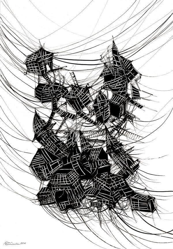 Wiszące miasto Italo Calvino