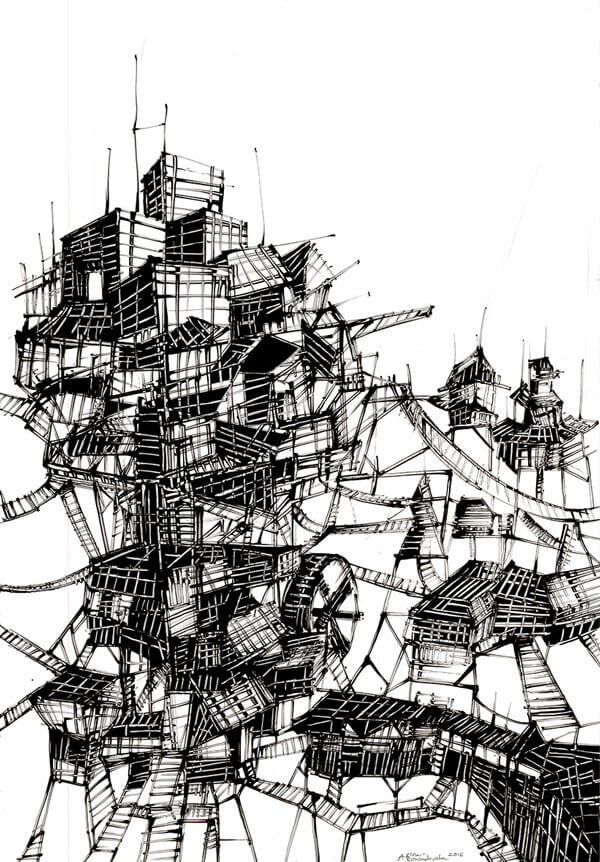 Italo Calvino's Invisible Cities Watermill